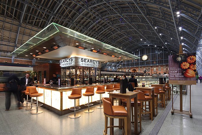 Image result for searcys St Pancras