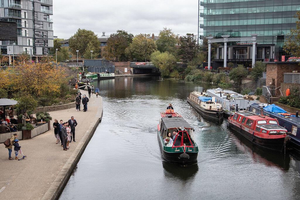 London Camden Lock Married Couple